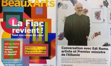 """INTERVISTA/ Rama për revistën franceze """"Beaux-Arts Magazine"""": Shqipëria, vendi im si askush tjetër"""