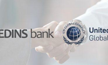 BANKA CREDINS anëtarësohet në UN Global Compact