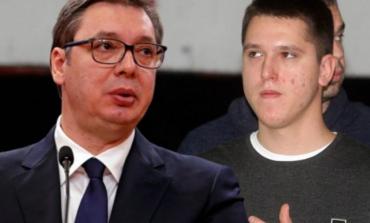 SKANDALI/ Djali i Vuçiç, i ka dhënë një thes me para një të dënuari për krime lufte