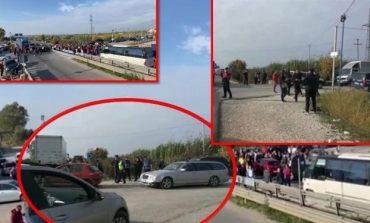 """MERRET VENDIMI/ ARRSH heq barrierat te """"Pushimi i Shoferëve"""" pas protestës së banorëve"""